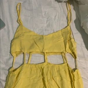 Yellow dress size medium